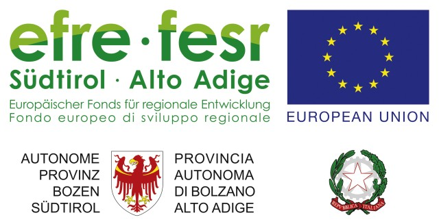 efre-fesr Südtirol Alto Adige